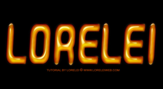 Oily and Shinny Text Effect