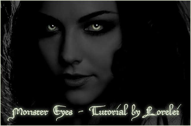 Glowing monsters eyes at night easy photoshop tutorial