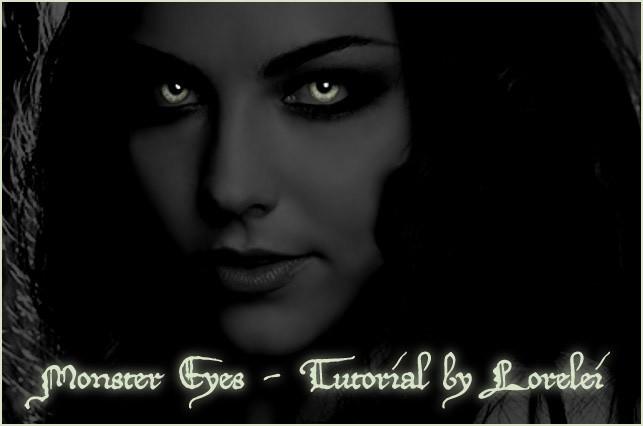 Glowing monsters eyes at night easy photoshop tutorial - Photoshop Tutorials Lorelei Web Design