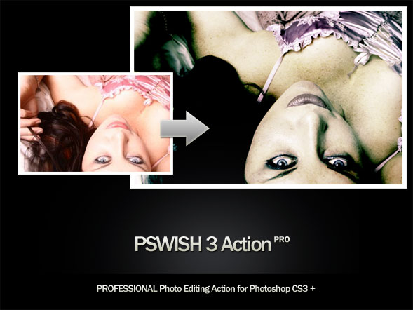 Professional Photo Retouching Action - Download Free Our First Release - Photoshop Actions Lorelei Web Design