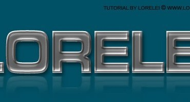 Embossed and Curved Metal Text Effect - Text effects Lorelei Web Design