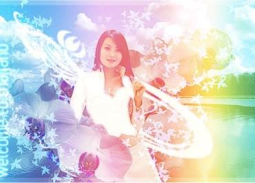 Design Thai-Styled Angelic Artwork From Ordinary Photos - glow Lorelei Web Design