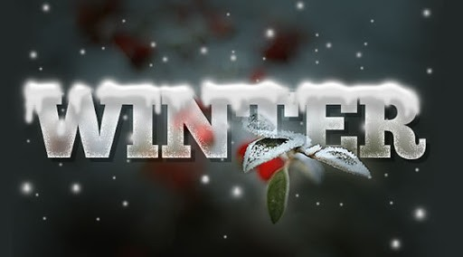 Design a Wintry Text Effect with Icicles and Snow - Photoshop Tutorials Lorelei Web Design