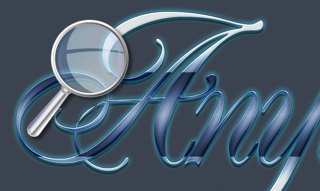 Elegant Glass - Gorgeous Text Effect With PSD Download