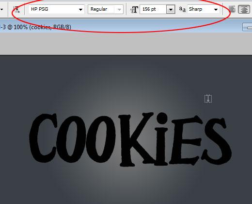 Sweet Cookies Text Effect in Photoshop For Beginners - Photoshop Tutorials Lorelei Web Design