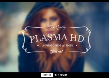 "Unique & Premium New ""Plasma HD"" Photoshop Actions For You - Photoshop Actions Lorelei Web Design"