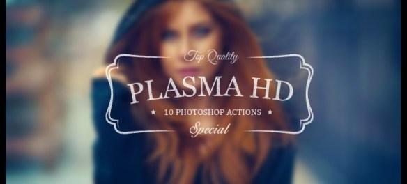 """Unique & Premium New """"Plasma HD"""" Photoshop Actions For You - Features Lorelei Web Design"""