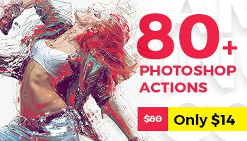 Amazing Collection of 80+ Top Selling Photoshop Actions Is Here