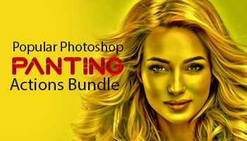 Popular Panting Photoshop Actions Bundle