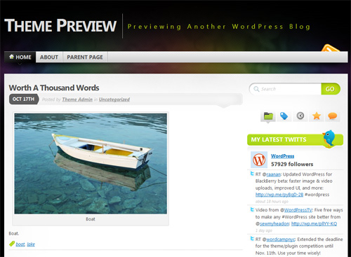 Mystique in 40 Free High-Quality WordPress Themes