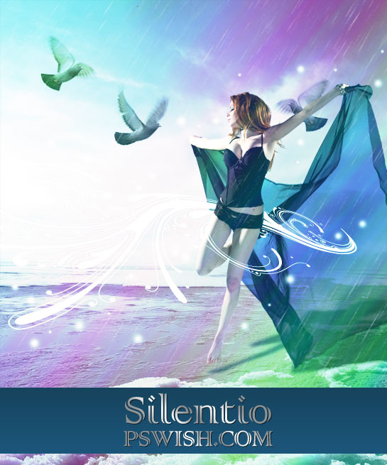 silentio photoshop tutorial fantasy art result
