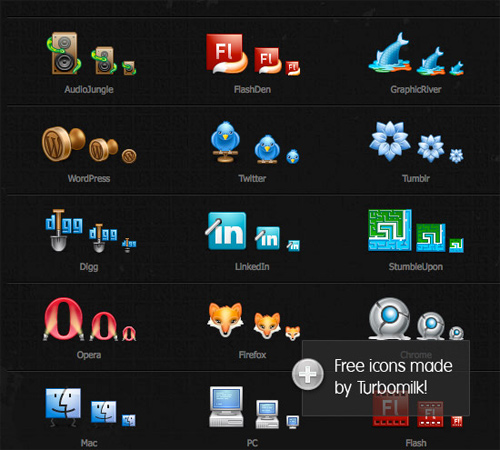 Turb-icon-sets in 50 Beautiful Free Icon Sets For Your Next Design