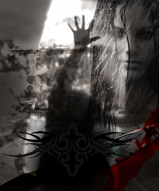 horror poster photoshop image effect