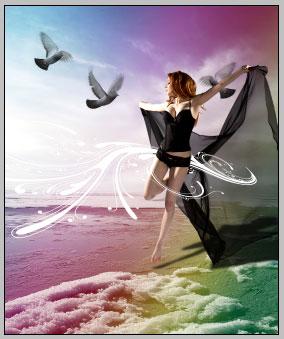 silentio photoshop tutorial fantasy art result