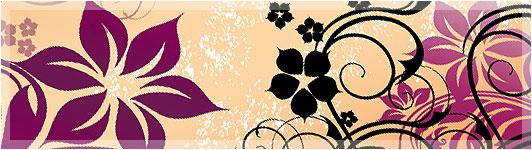 7. Enchanting Flowers Ornaments photoshop brushes