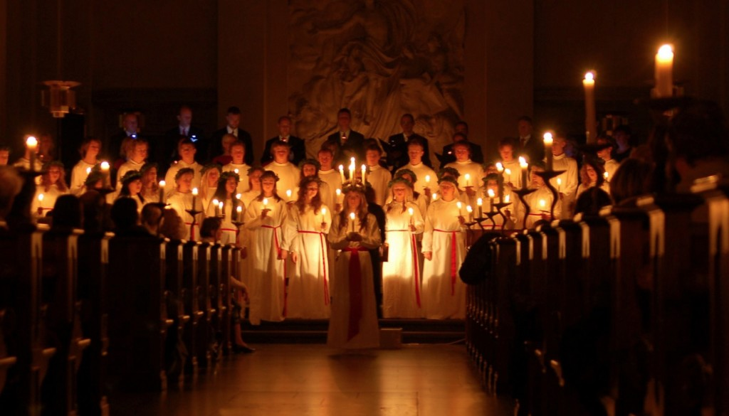 Lucia day sweden