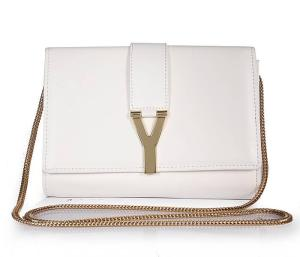 Best-2013-Yves-Saint-Laurent-Chyc-Small-Travel-Case-311215-White-Bag-For-Sale-b0