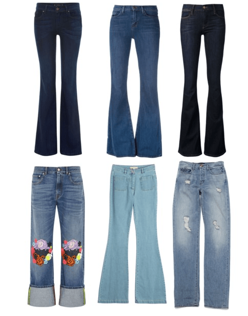 Must Have Jeans in 2015 - Collage by Lorellay.com