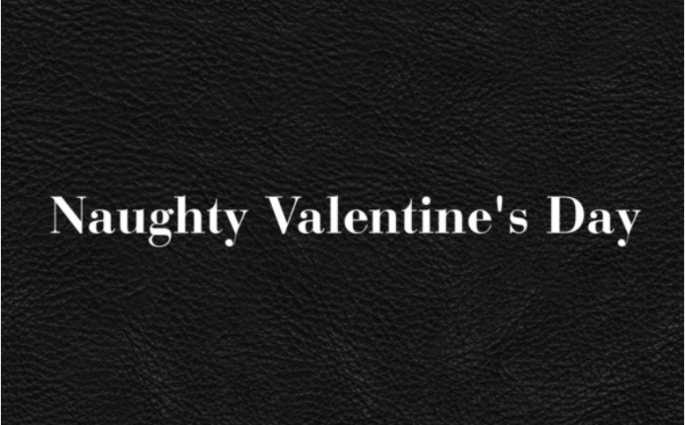 Naughty valentines day header