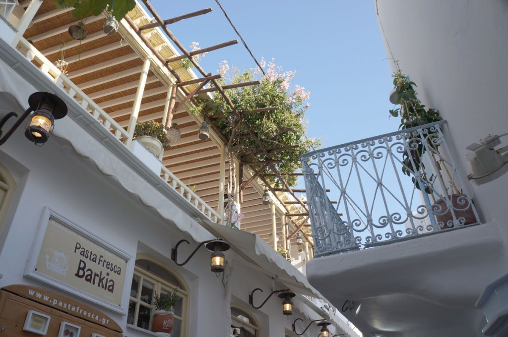 Where to Eat in Mykonos Pasta Fresca Barkia