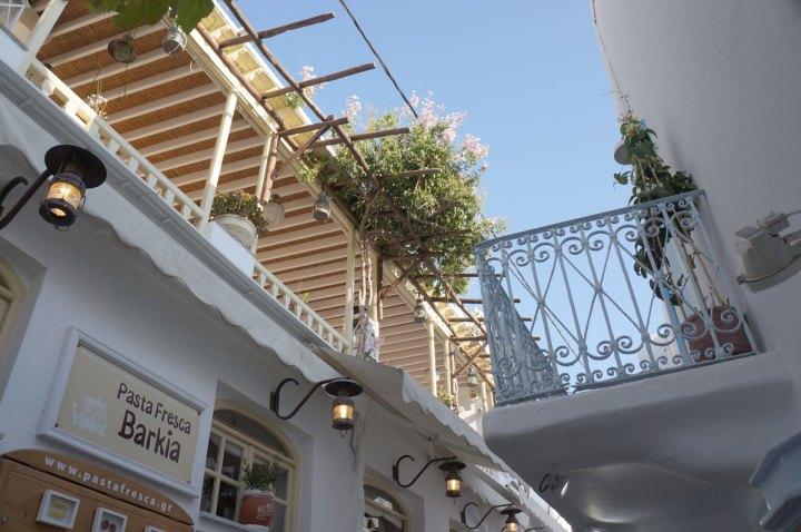 Where to Eat in Mykonos Pasta Fresca Barkia