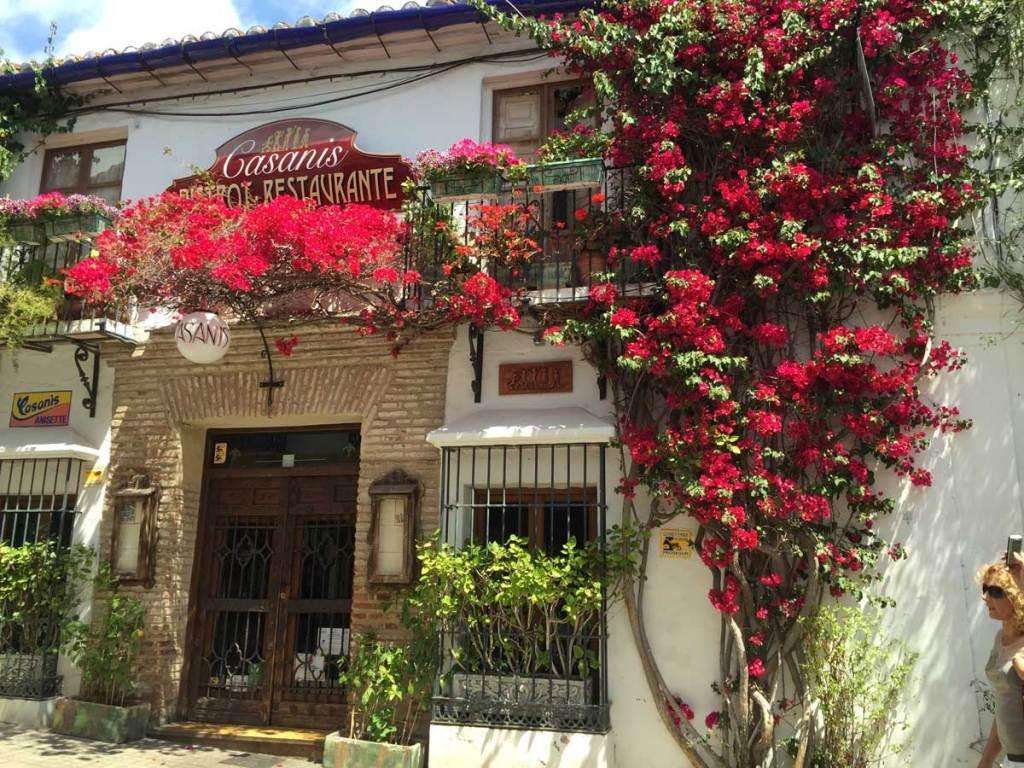 Marbella Old Town restaurant