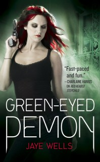 Book Review: GREEN-EYED DEMON by Jaye Wells