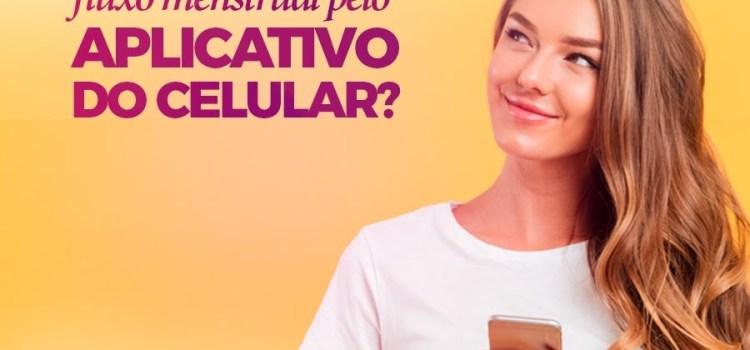 É possível controlar o fluxo menstrual pelo aplicativo do celular?
