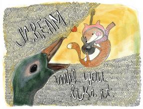 Ilustração curso SVA (School of visual arts-NY).