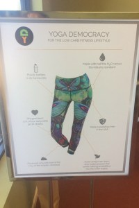 Sustainable Yoga Brand