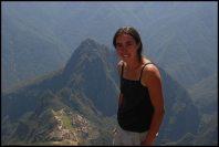 au sommet de la montagne Machu Picchu (2795m)