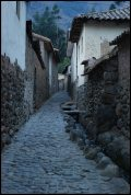 une autre rue pavée d'ollantaytambo / another cobble street in Ollantaytambo