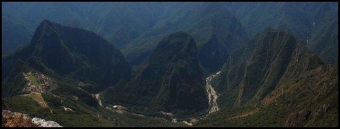 Machu Picchu, Huyana Picchu and Putucusi
