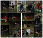stretching, yoga et rigolade / Stretching, Yoga and Laughing