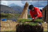 The making of the floating islands (1) - La formation des îles flottantes, Peru