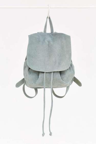 Ecote Suede Flap Mini Backpack