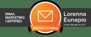 Certificação Email Marketing Hubspot