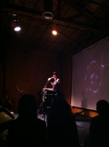 Jill Tracy at the Death Salon Cabaret