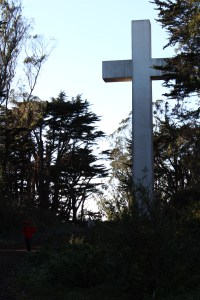 The Mount Davidson cross, San Francisco, 2014