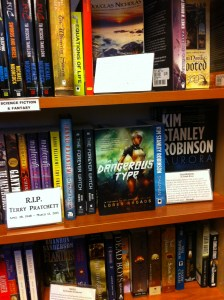 The Dangerous Type at West Portal Books, San Francisco: between Reynolds and Robinson.