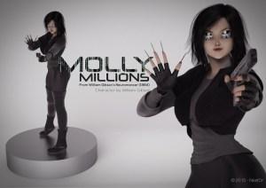 Molly statue