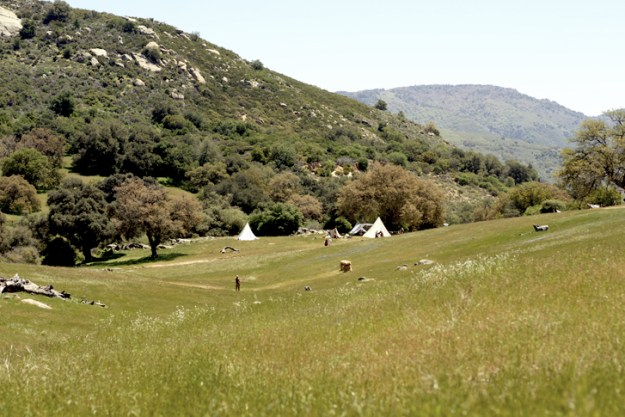A re-enactment of a pre-1840 North American Fur Trade Encampment set right in our own back yard - Santa Ysabel.