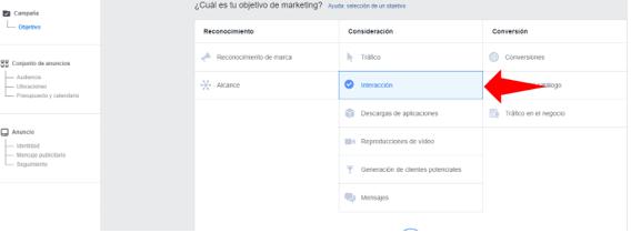 Objetivo 3 - Guía fácil para crear tus anuncios en Facebook Ads🚀