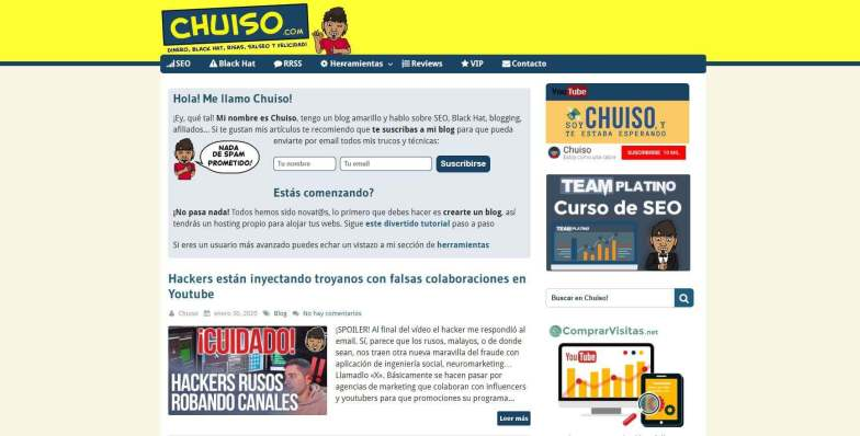 Chuiso.JPG 1 - Las webs de los 20 especialistas en posicionamiento SEO más importantes de España 🏆