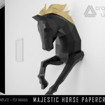 Paper Mache Horse Sculpture Lorenzo Sculptures