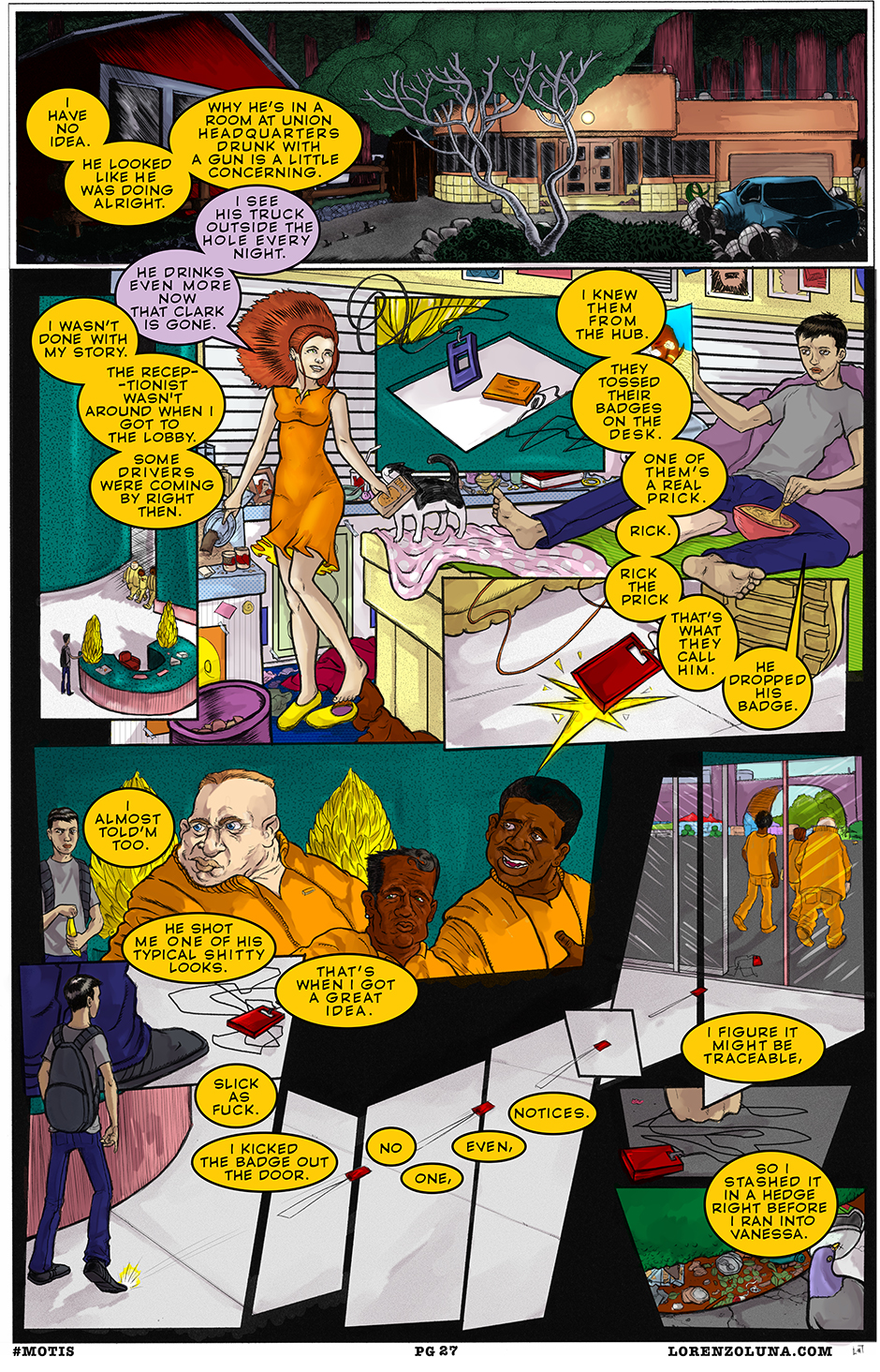 the maze page 27