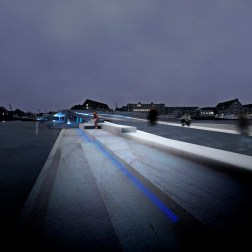 Copenhagen Harbour Bridge - Evening view