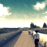 A11 Highway - Bicycle path 70