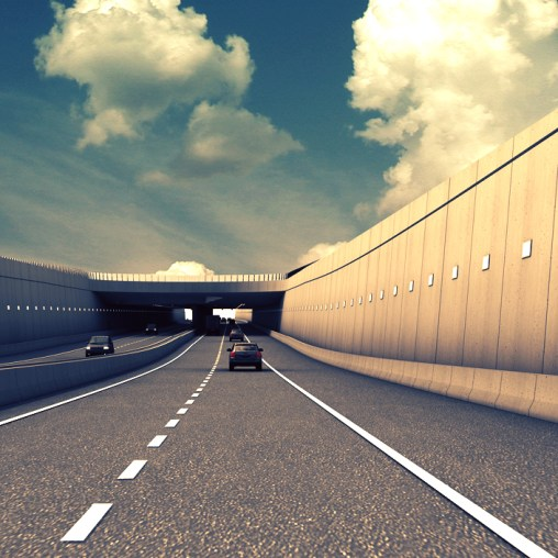 A11 Highway - Tunnel 50