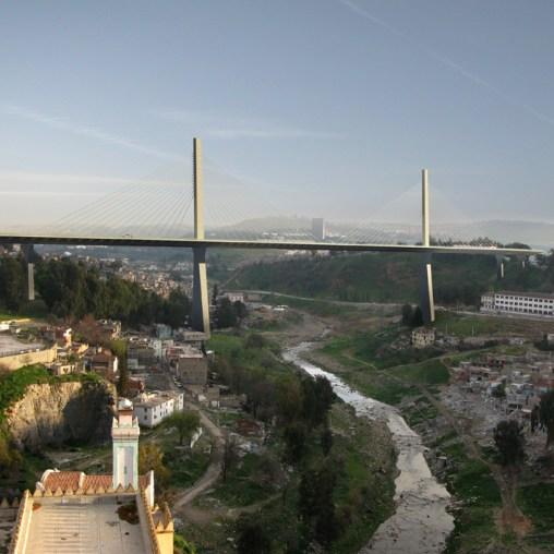 Constantine Trans-Rhummel Bridge - Day view